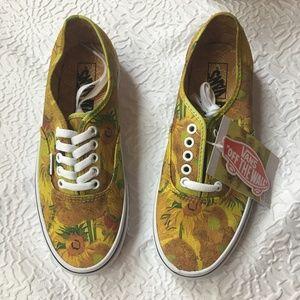 7214f4c8b040 Vans Shoes - Vans x Vincent Van Gogh Museum Sunflowers Sneaker
